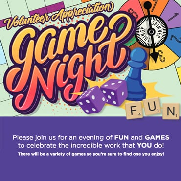 Volunteer Appreciation Game Night
