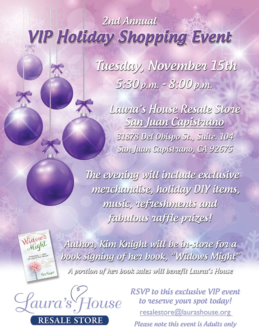 2nd Annual VIP Holiday Shopping Event