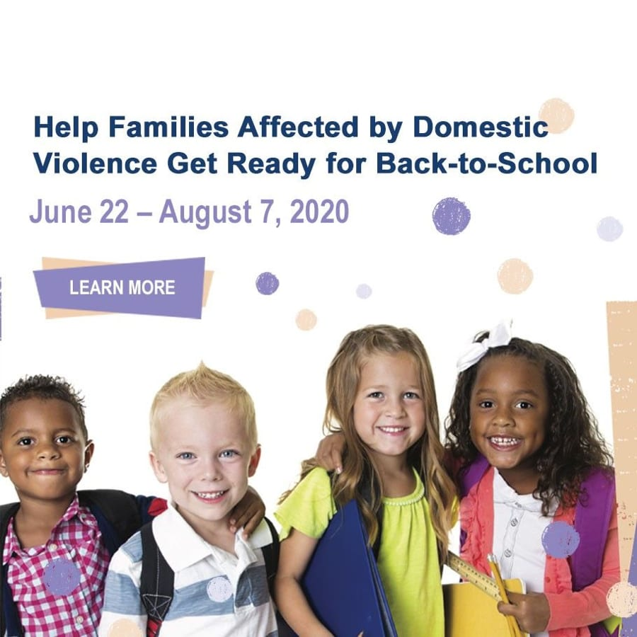 Help Families Affected by Domestic Violence Get Ready for Back-to-School