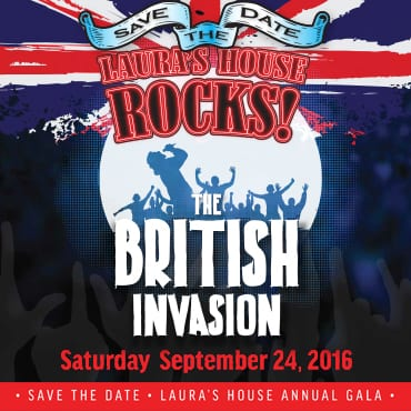 Laura's House Annual Gala - The British Invasion: Laura's House Rocks!