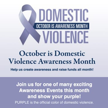 October is Domestic Violence Awareness Week