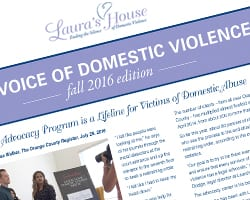 Laura's House Newsletter