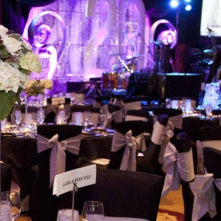 20th Anniversary Gala - Interior