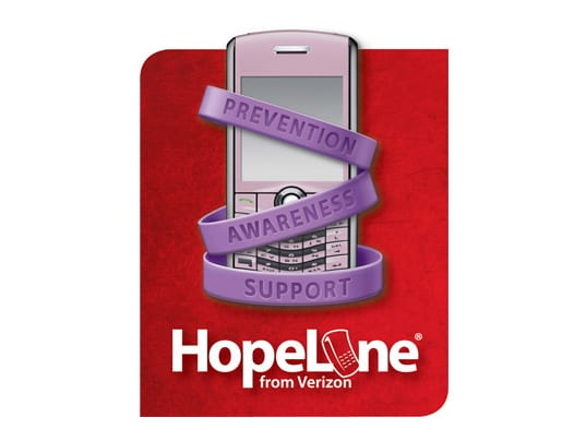 HopeLine from Verizon - prevention, awareness, support