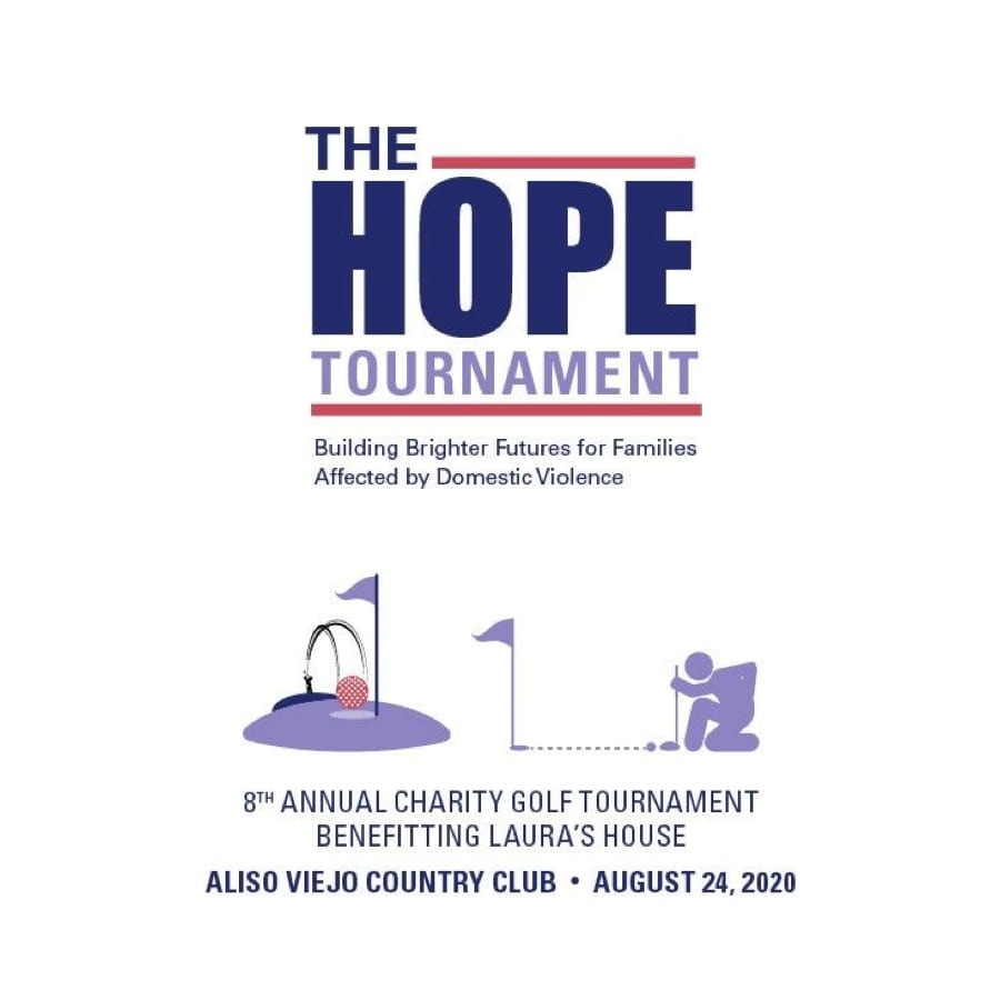 Laura's House Hope Golf Tournament, Aliso Viejo Country Club, August 24, 2020