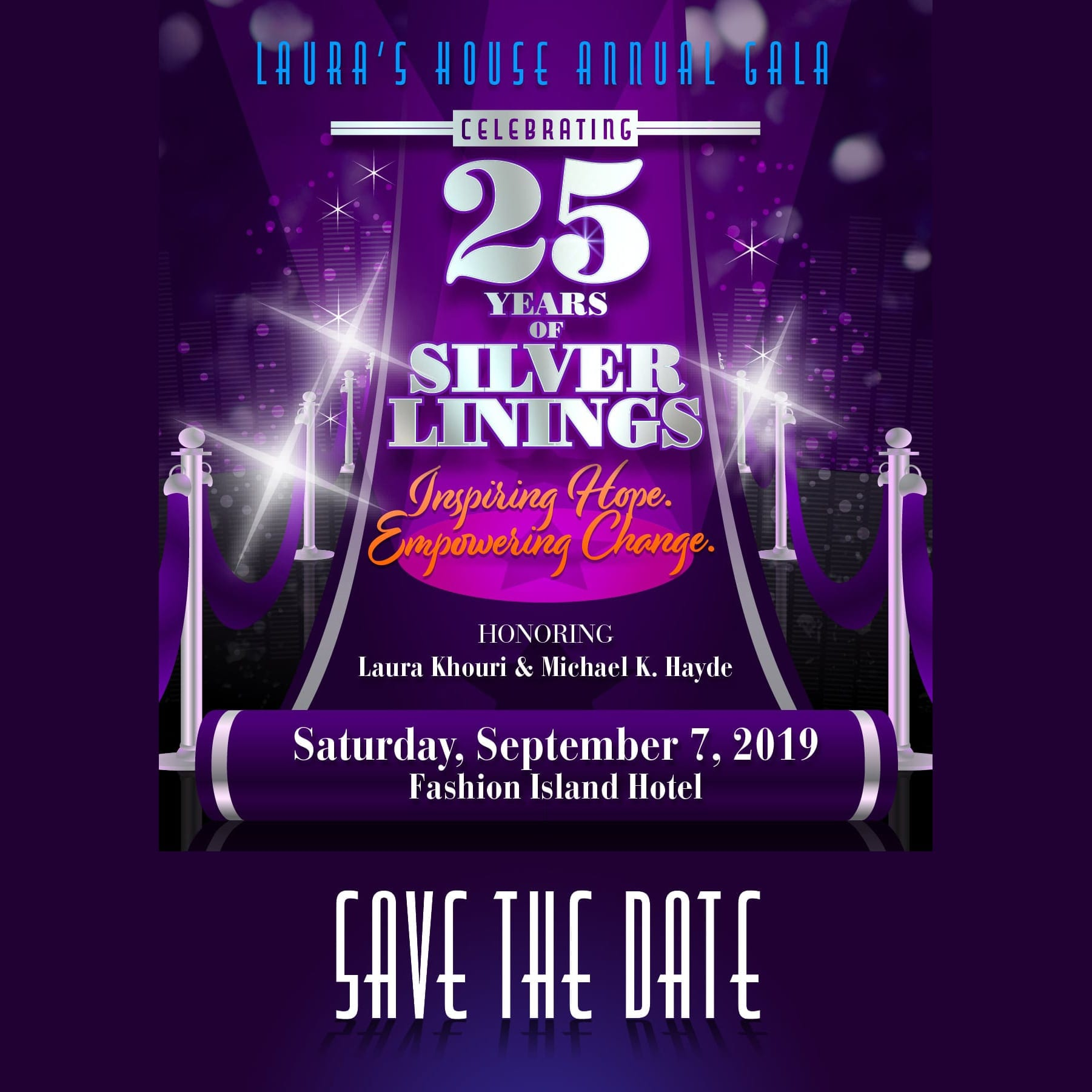 25th Anniversary Gala September 7, 2019 at the Fashion Island Hotel