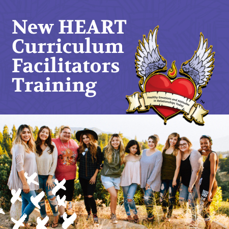 New HEART Curriculum Facilitators Training