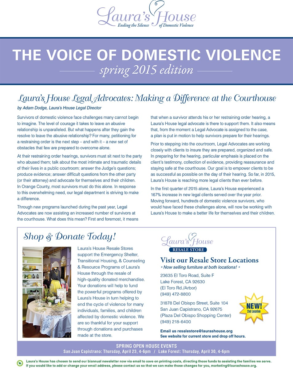 The Voice of Domestic Violence
