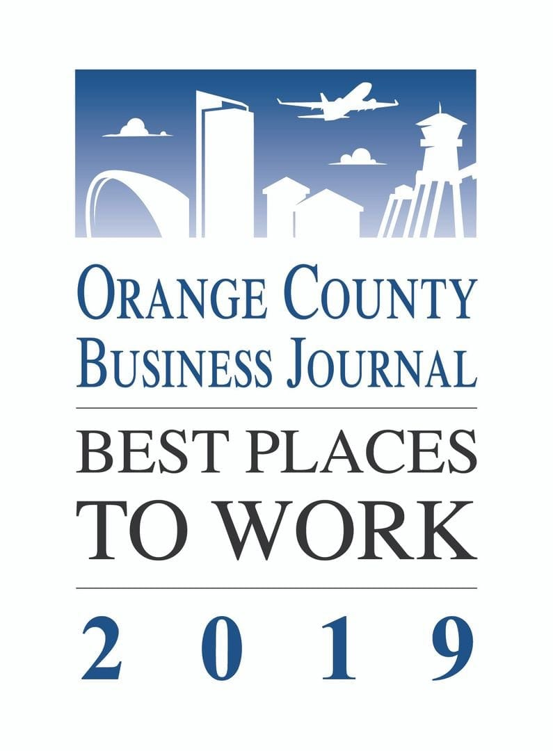 Orange County Business Journal Best Places to Work 2019