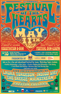 Festival of the Hearts May 11th 2019 at Saddleback College 2800 Marguerite Pkwy, Registration 8am-9am, Festival 9am-2pm